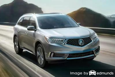 Insurance quote for Acura MDX in Henderson
