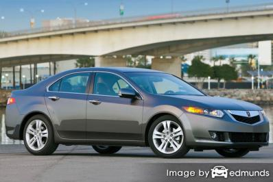Insurance rates Acura TSX in Henderson