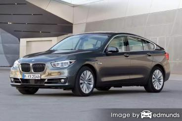 Insurance rates BMW 535i in Henderson