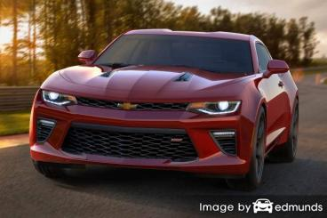 Insurance quote for Chevy Camaro in Henderson