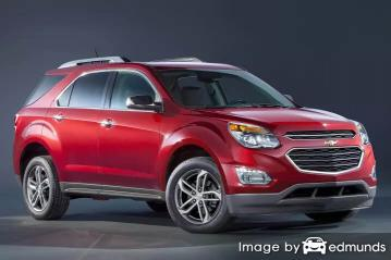 Discount Chevy Equinox insurance