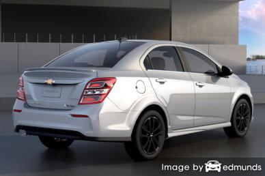 Insurance quote for Chevy Sonic in Henderson