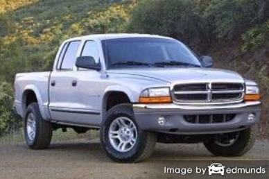Insurance rates Dodge Dakota in Henderson