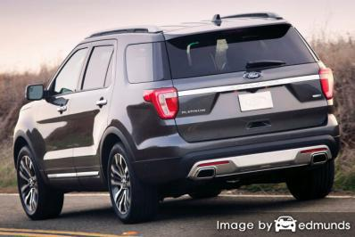 Insurance rates Ford Explorer in Henderson