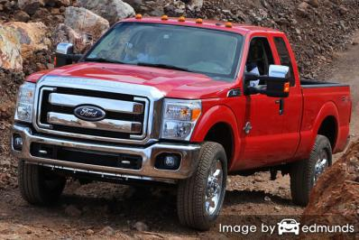 Discount Ford F-250 insurance