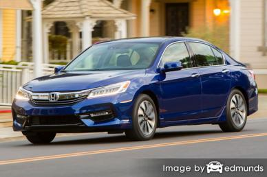 Insurance rates Honda Accord Hybrid in Henderson
