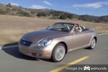 Insurance rates Lexus SC 430 in Henderson