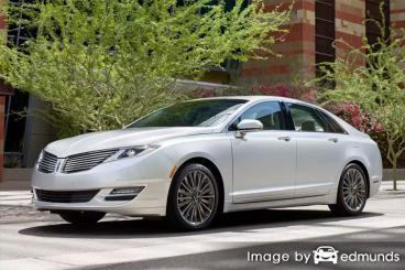 Insurance rates Lincoln MKZ in Henderson
