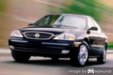 Insurance rates Mercury Sable in Henderson