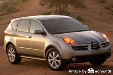 Insurance rates Subaru B9 Tribeca in Henderson