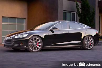 Insurance quote for Tesla Model S in Henderson