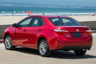 Insurance rates Toyota Corolla in Henderson